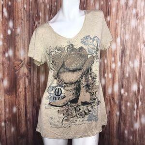 Liberty Wear • Cowgirl Attitude Western Shirt